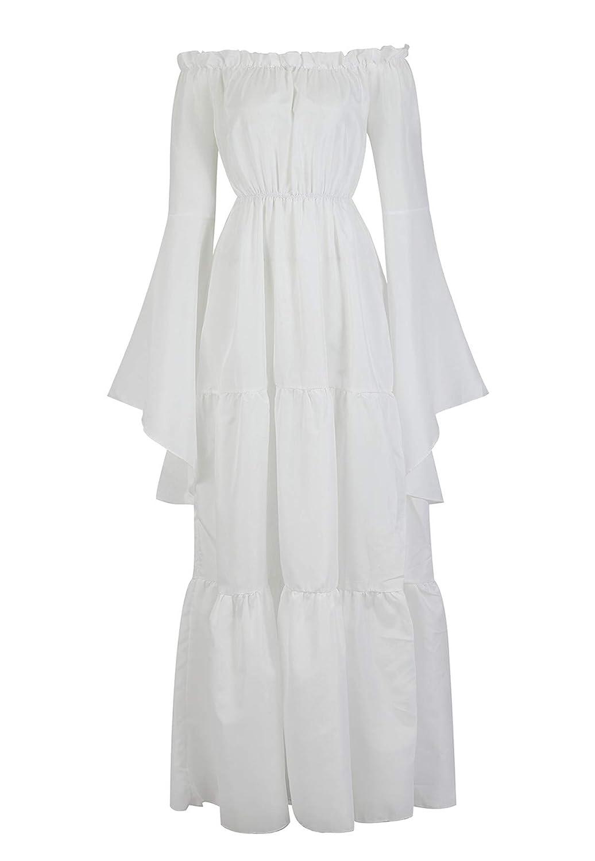 frawirshau Renaissance Costume Women Medieval Dress