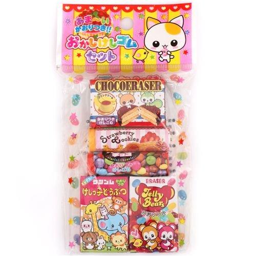 scented erasers from Japan kawaii (Hamster Eraser)