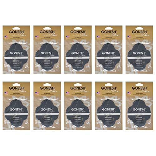 にじみ出る先例自宅でGONESH ペーパーエアフレッシュナー ココナッツ 10個セット