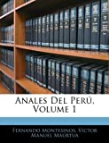Anales Del Perú, Fernando Montesinos and Víctor Manuel Maúrtua, 1145617115