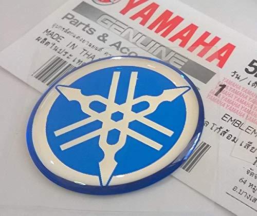 Yamaha 100/% GENUINE 45mm Diameter TUNING FORK Sticker Emblem Logo Silver//Black Motorcycle//Jet Ski//ATV//Snowmobile