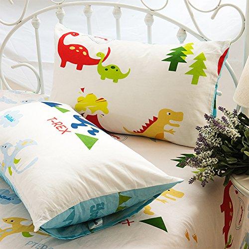 48*74cm Silky Pillow Cover Comfortable Pillowcase Blue - 8