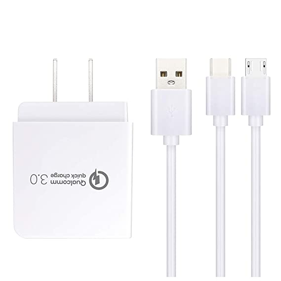 Amazon.com: Rapid Wall Charger Fast Charging Compatible with ...