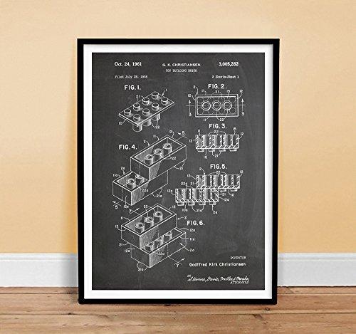 lego posters retro