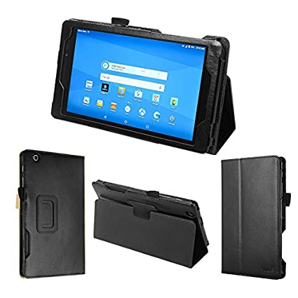 100% authentic 10335 90e79 wisers AT&T Trek 2 HD, K88, US Cellular ZPad 8, 8-inch Tablet case/Cover,  Black