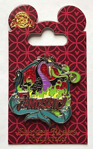 Disney Pin 74154 Fantasmic! - Maleficent with Flotsam and Jetsam Pin]()