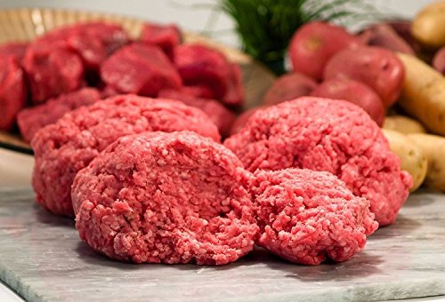 USDA Certified Organic Grass-Fed Ground Beef, 85% (Grass Fed Ground Beef)
