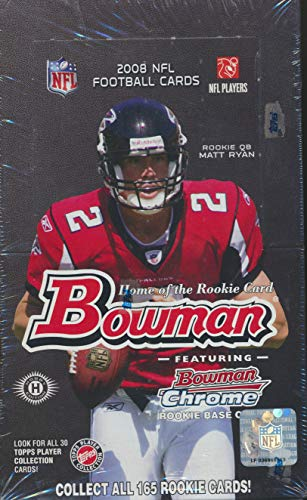 Bowman 2008 NFL Football Cards Box