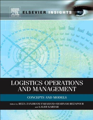 Logistics Operations and Management: Concepts and Models (Elsevier (Operations Management Models)