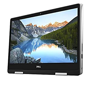 "Dell - Inspiron 2-in-1 14"" Touch-Screen Laptop - Intel Core i7 - 8GB Memory - 256GB Solid State Drive - Silver"