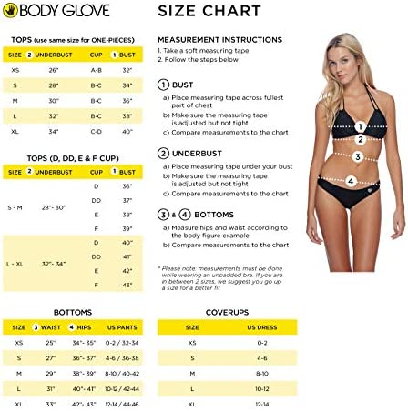 Body Glove Women's Smoothies Solo Solid Underwire D, Dd, E, F Cup Bikini Top Swimsuit