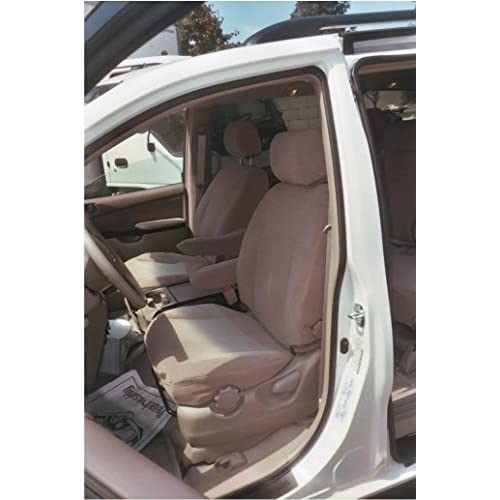 Durafit Seat Covers SN8 Tan For All 3 Rows Of The Toyota Sienna