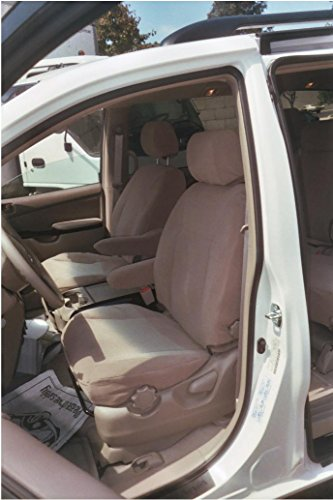 Durafit Seat Covers, SN22-V4, 2009-2010 Toyota Sienna LE 8 Passenger Van Complete 3 Row Set (Electric Drivers Seat), Minivan Seat Covers in Dark Tan (Taupe) Velour Fabric (Best 8 Passenger Van)