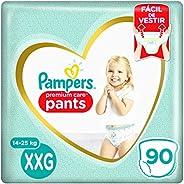 Fralda Pampers Pants Premium Care XXG - 90 fraldas