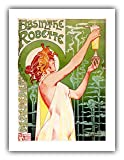 First printed in 1896, Henri Privat-Livemont's iconic Absinthe Robette is easily one of the most recognizable images associated with absinthe and with art nouveau in general. It depicts a classically-styled maiden in a sheer gown receiving a glass of...