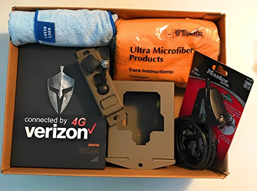 Spartan HD GoCam Verizon 4G/LTE, Infrared Deluxe Package Deal by HCO Outdoor Products (Image #2)