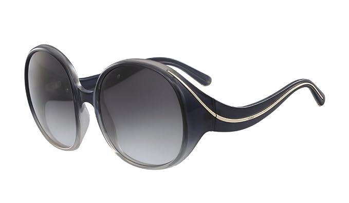 Amazon.com: Chloe CE727S 002 Gradient Black Oversized ...