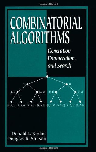 Combinatorial Algorithms: Generation, Enumeration, and Search (Discrete Mathematics and Its Applications) by CRC Press