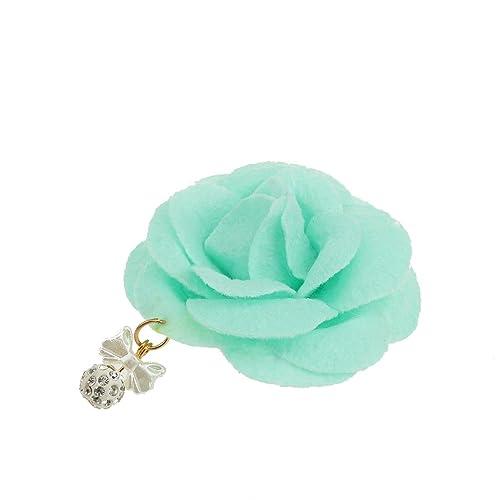 Haarblüte Haarclip Haarspange Mit 2 Stoff Blumen Strass Hochzeit 11 Farben Hair Accessories Hair & Head Jewelry