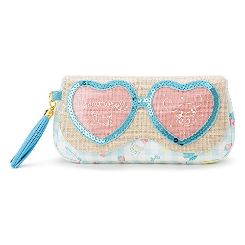Asian Eye Glasses Costume (Sanrio Cinnamoroll sunglasses pouch From Japan New)