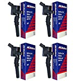 New OEM ACDelco Ignition Coil Set (4) DG508 F523