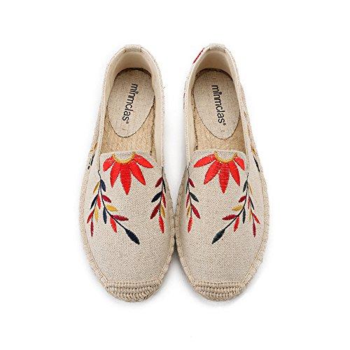 Segeltuchschuhe - Alpargatas de Sintético para Niña, Color, Talla 35 EU: Amazon.es: Zapatos y complementos