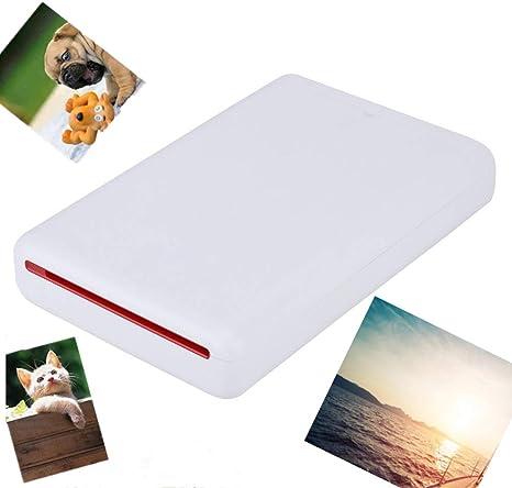 Mini Stampante portatile per foto da 2x3 pollici Adesivi in carta Stampa rapida Stampante fotografica mobile Bluetooth