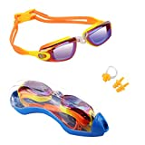 Hurdilen Kids Swim Goggles, Swim Goggles for Kids