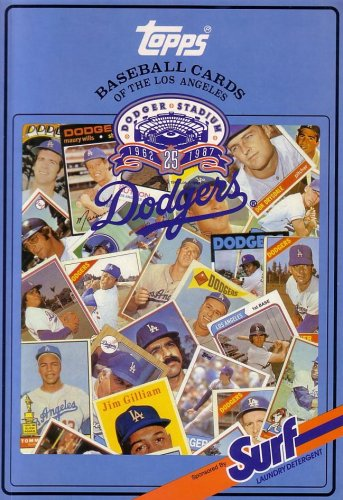 Topps Chewing Gum (Topps Baseball Cards of the Los Angeles Dodgers (Baseball Card Collector's Series: Sponsored by Surf)