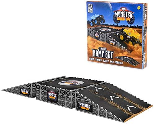 Monster Smash Ups Ramp Set for Remote Control RC Trucks and