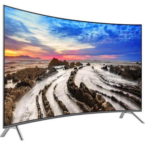 Samsung UN65MU8500   65-Inch Curved 4K Ultra HD Smart LED TV