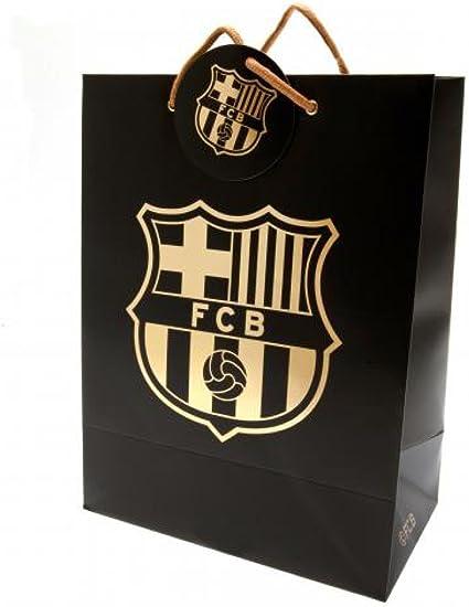 Oficial FC Barcelona bolsa de regalo: Amazon.es: Oficina y papelería