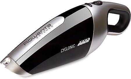Rowenta Extenso Cyclonic AC476901 - Aspirador de mano sin cables, 7.2 V de potencia, autonomía 16 min, sistema ciclónico, boquilla para ranuras integrada, base de carga incluida: Amazon.es: Hogar