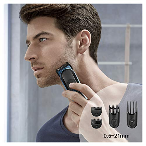 Braun Hair Clippers for Men MGK3980, 9-in-1 Beard Trimmer, Ear and Nose Trimmer, Body Groomer, Detail Trimmer, Cordless… 5