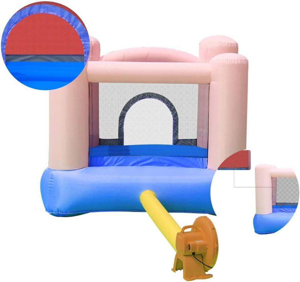 Castillo hinchable Castillo Inflable Juegos For Niños Juguetes Cama Elástica Fuerte Travieso Diapositivas De Agua For El Hogar Juegos Infantiles Parque De Salto De Cama Accesorios