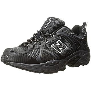New Balance Men's 481v2 Trail Running Shoe, Black/Silver, 15 4E US