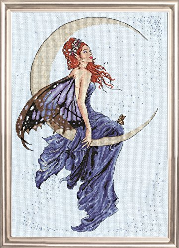 Design Works Blue Moon Counted Cross Stitch Kit (Cross Stitch Designs Counted Moon)