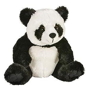 "8"" Panda Plush Stuffed Animal Toy - 51Kto5slJIL - Adventure Planet 8″ Panda Plush Stuffed Animal Toy, Black"