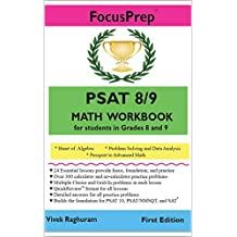 PSAT 8/9 MATH Workbook: for students in grades 8 and 9.