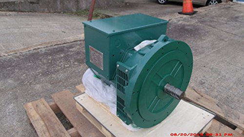 Generator Head 184F 25KW 1 Phase 2 Bearing 120/240 Volts, 1800 RPM