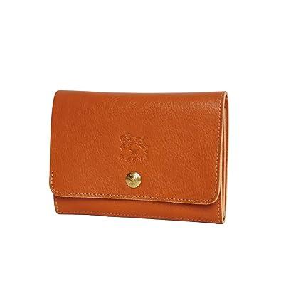 fc9ef3a80890 Amazon | [イルビゾンテ] IL BISONTE C0522 P 小銭入れ付二つ折り財布 ...