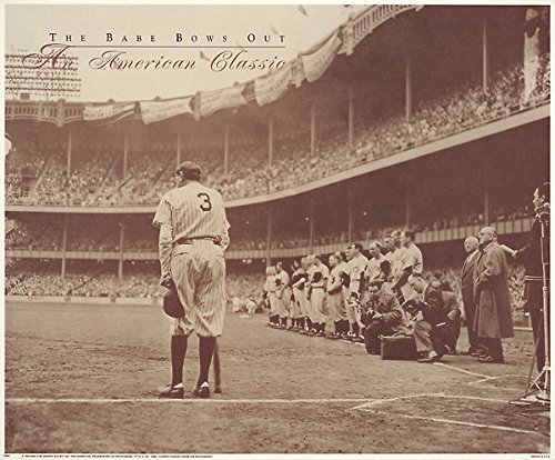 The Babe Bows Out by Nat Fein Poster Print - Poster Bows Out