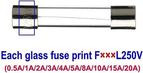 Gebildet 150 Stücke 5x20mm Schnelle Schlag Glassicherung Fast Schlag Glas Sicherungen Assortierte Kit 0 5a 1a 2a 3a 4a 5a 8a 10a 15a 20a Baumarkt