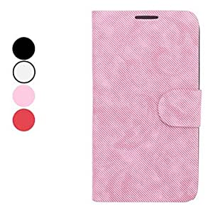 Buy Twill Pattern Full Body Case with Stand and Card Slot for Samsung Galaxy Note 2 N7100 (Assorted Colors) , Red