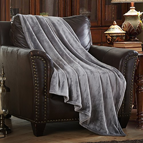 Merrylife Decorative Throw Blanket Ultra-Plush Comfort   Soft, Colorful, Oversized   Home, Couch, Outdoor, Travel Use   Large Size (90