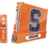 Syracuse University Wii (Includes 1 Controller) Skin - Syracuse Distressed Vinyl Decal Skin For Your Wii (Includes 1 Controller)