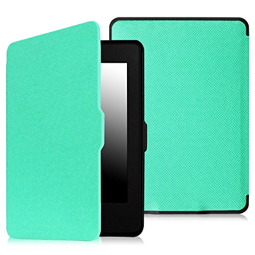 Fintie Smartshell Case For Kindle Paperwhite - The Thinnest And Lightest Pu Leather Cover Auto Sleep