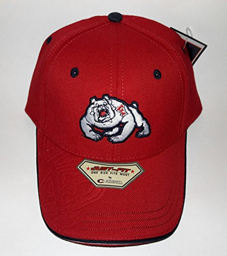 Fresno State Bulldogs 3D Embroidered Hat Flexfit Fitted Cap OSFM - Fresno State Fitted Cap