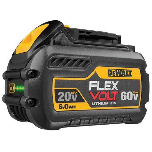 DEWALT DCB206-2 20V MAX 6.0Ah Lithium Ion Premium Battery, 2 Pack