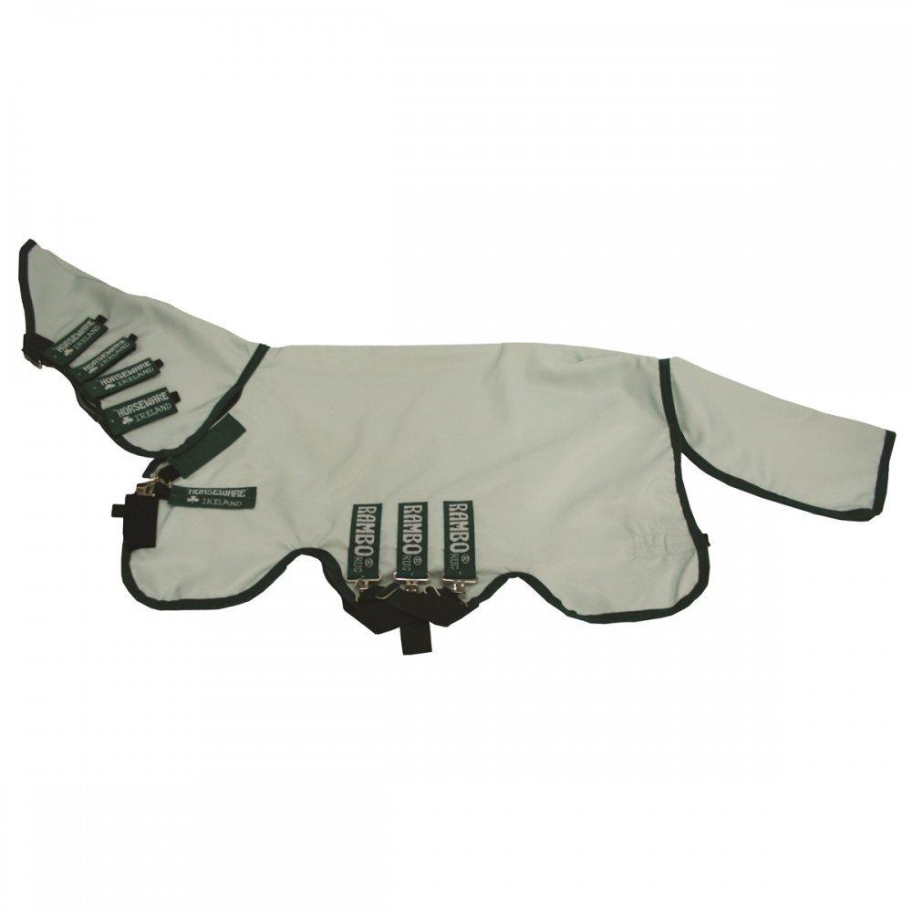 Horseware Rambo Sweetitch Hoody (inkl. Fliegenmaske) - Ice-Green/Green